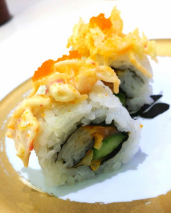 Crispy Spicy Salmon Roll