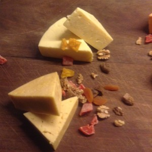 Ashgrove Double Gloucester and Aged Cheddar