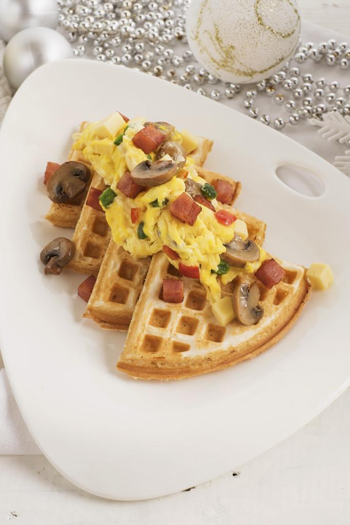 Holiday Waffle