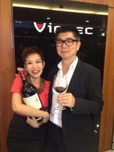 Charmaine and Eric Wang (Owners of Cellar Solutions)