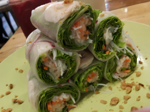 fresh spring rolls erth kitchen