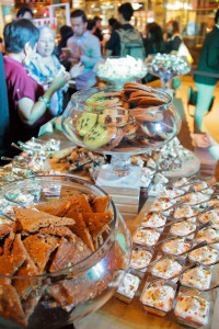 Assorted sweets at the event