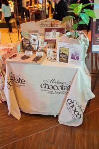 Malagos chocolate booth