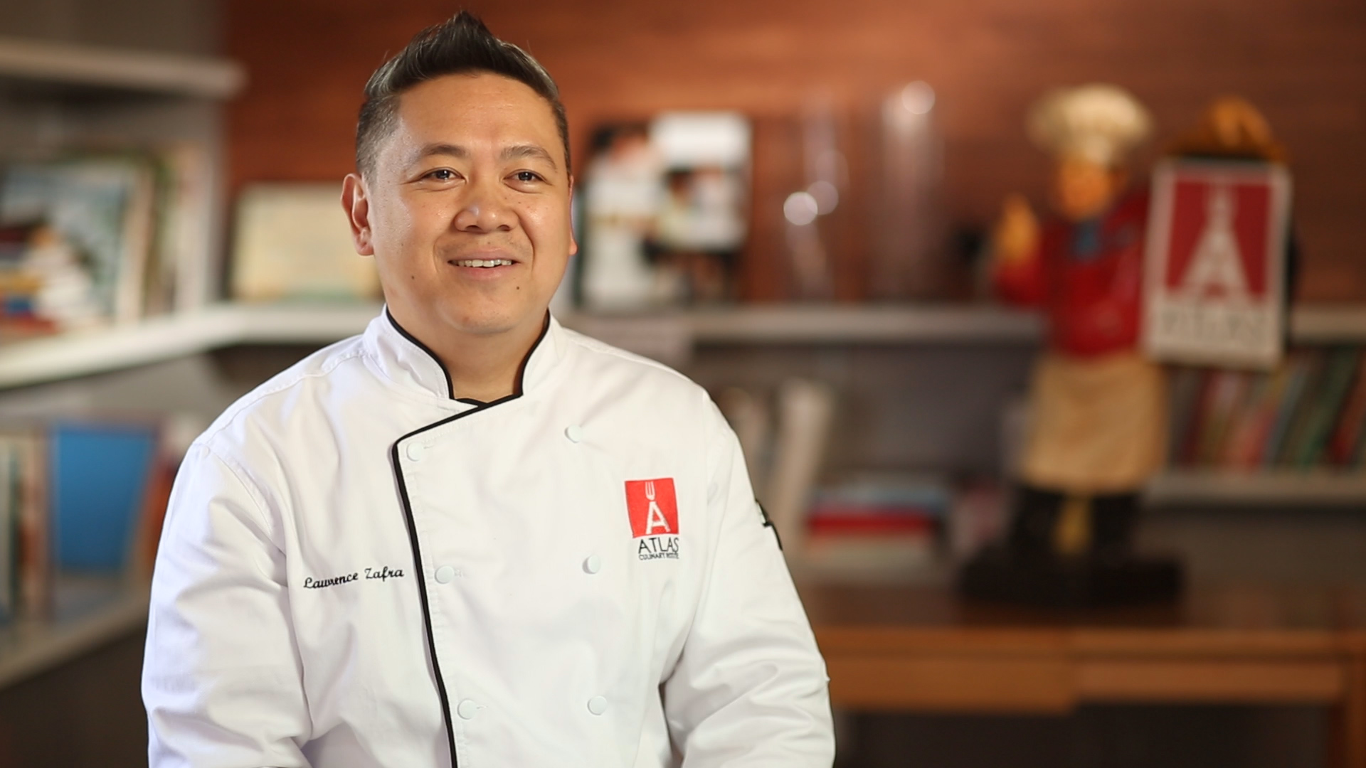 ATLAS Chef Lawrence Zafra