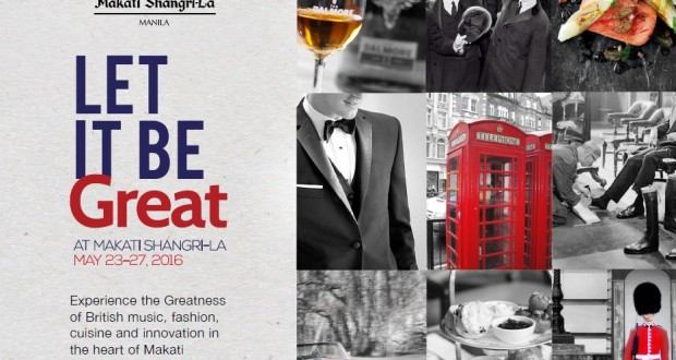 let it be great grand British festival Makati Shangrila Manila