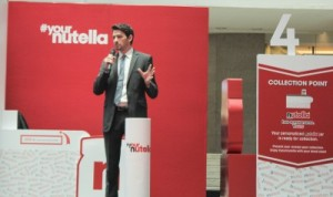 Fabian Heymer, Brand Manager for Nutella SouthEast Asia