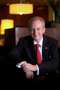 Mr. Bruce Winton, GM of Marriott Hotel Manila