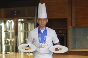 Gold medalist : Prince Ruecarl Patino