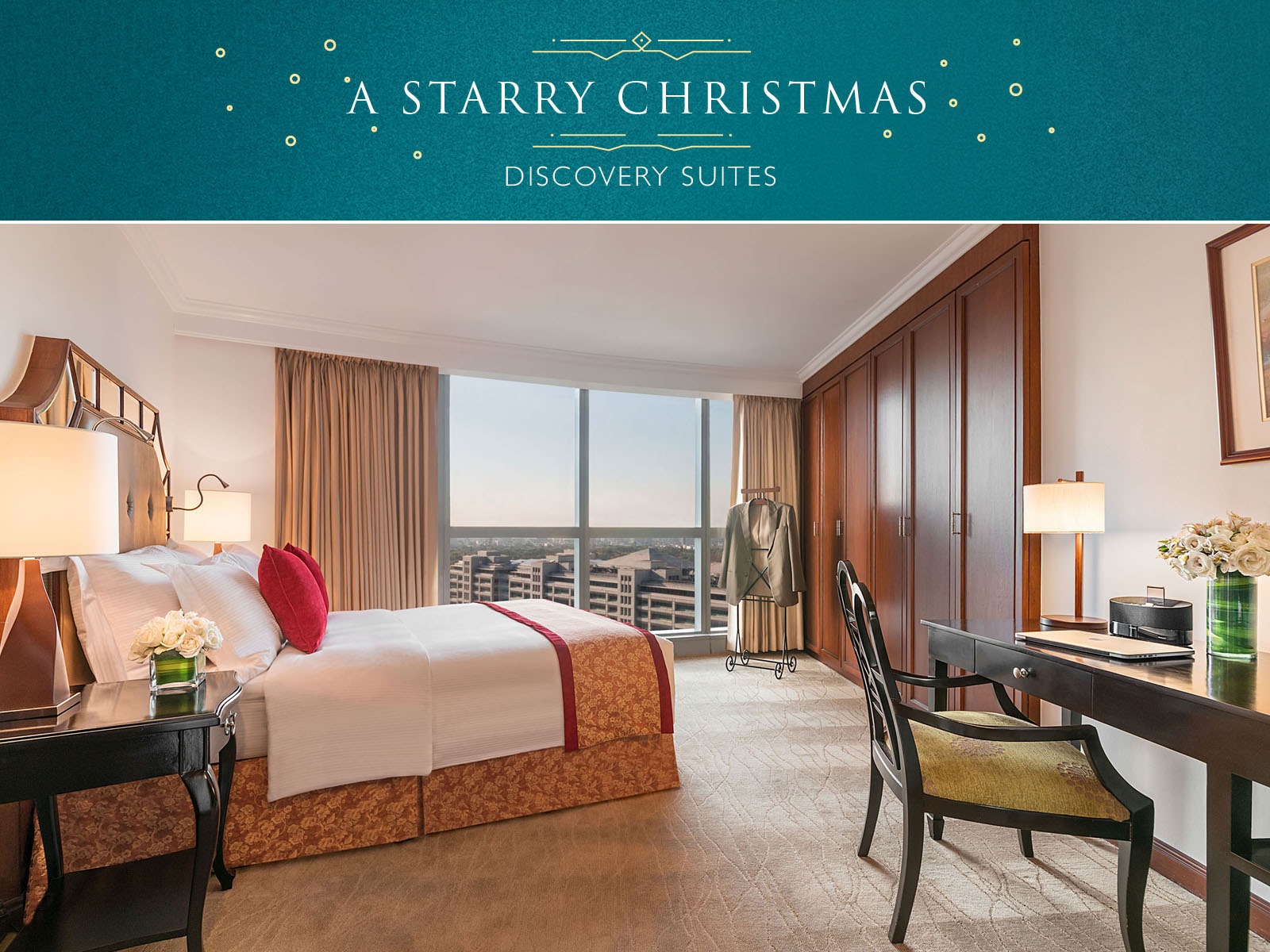 A Starry Christmas At Discovery Suites Ortigas Manila Dine Philippines