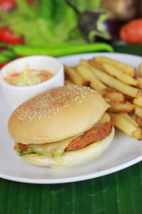 Adobo Style Pulled Pork Burger
