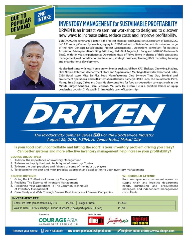 DRIVEN with Ver Tayao